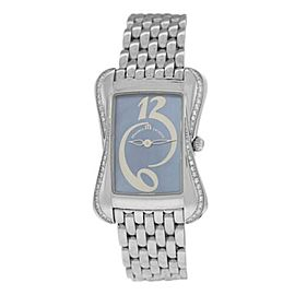 Maurice Lacroix Divina Ladies' Diamond MOP DV5012-SD532-360 $3000 Quartz Watch