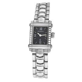 Ladies' Charriol COLVMBVS COLUMBUS 9012911 Steel Diamond 18MM Quartz Watch