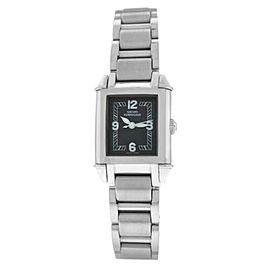 New Ladies Girard Perregaux Vintage Steel Ref. 2591 Quartz 23MM Watch Papers