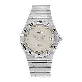 Omega Constellation Men's Unisex Steel Date 1512.30 34MM Quartz Watch