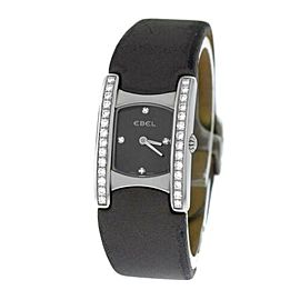 Ladies Ebel Beluga E9057A28-10 Steel Diamond Quartz Watch