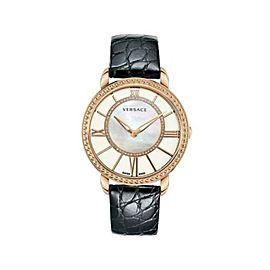 Versace Krios Gold Diamond MOP Quartz Watch 38MM M6Q80SD498 S009