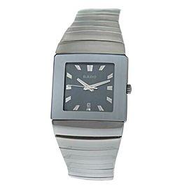 Rado Sintra Unisex Ceramic 31MM Date Quartz $2,300 Watch R13432212