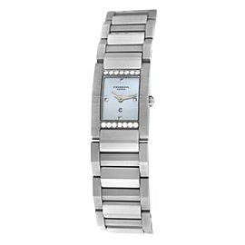 Ladies' Charriol Megeve MGVSD MOP Stainless Steel Diamond 19MM Quartz Watch