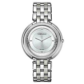 New Versace THEA VA706 0013 Stainless Steel Quartz 39MM Watch