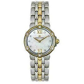 New Lady Maurice Lacroix Calypso CA1102-DP505-170 Diamond MOP $2800 Quartz Watch