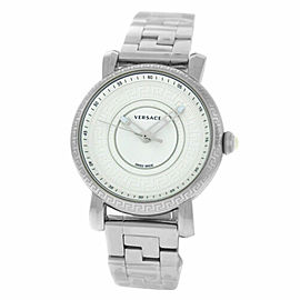 New Versace Day Glam VQ903 0014 Stainless Steel 38MM Quartz Watch