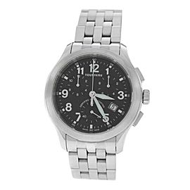 Mens Tourneau Sportgraph Date Chronometer Super Quartz 42MM Watch