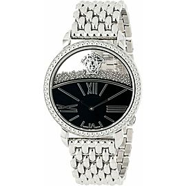 New Versace Krios 93Q99BD008 S099 Floating Spheres Steel 38MM Quartz Watch