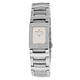 New Lady Maurice Lacroix Miros MI2012-SS002-130 Steel $1200 Quartz Watch
