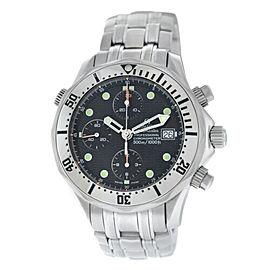 Men's Omega Seamaster 2598.80 Chronograph 300M Chronometer Automatic 42MM Watch