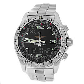 Breitling B-1 A68362 Men's Stainless Steel Multifunction 42MM Quartz Watch