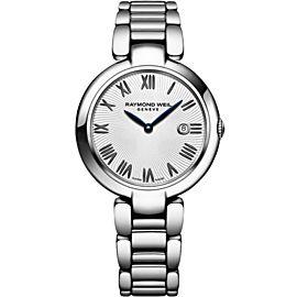 Ladies' Raymond Weil Shine 1600-ST-00659 Stainless Steel 32MM Quartz Watch