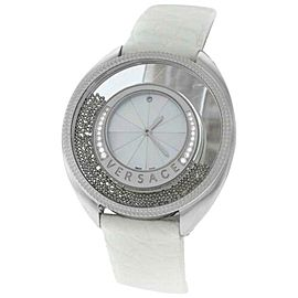Versace Destiny Spirit 86Q91D498 S001 Spheres 38MM Diamond MOP Quartz Watch New