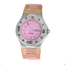 Ladies TechnoMarine Techno Sport Apnea TMAXS07 Steel Day Date Quartz 38MM Watch