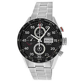 Men's Tag Heuer Carrera Monaco CV2A10 Steel Chronograph Automatic 44MM Watch