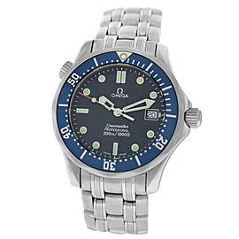 Midsize Unisex Omega Seamaster 2561.80 Men's Stainless Steel Quartz 36MM Watch