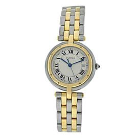 Ladies' Cartier Panthere Vendome 183964C Two Row Gold Steel Quartz 30MM Watch