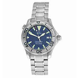 Men's Omega Seamaster 2263.80 Stainless Steel 36MM Date Quartz Watch