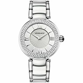New Ladies' Versace Leda VNC030014 Stainless Steel Quartz 38MM Watch