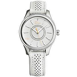 Ladies' Christian Dior VIII Montaigne CD152110A005 Diamond MOP 33MM Quartz Watch