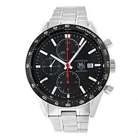 Tag Heuer Carrera CV2014.BA0786 Men's Steel Chronograph Automatic 42MM Watch
