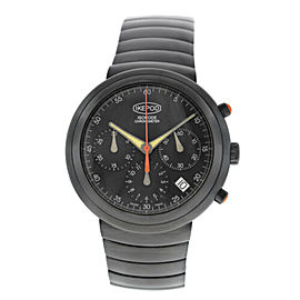 Unisex Ikepod Isopode Chronograph 9999 Limited Marc Newson Auto PVD 39MM Watch