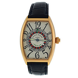 Franck Muller Cintree Curvex Vegas Ref. 5850 18K Rose Gold Automatic Watch