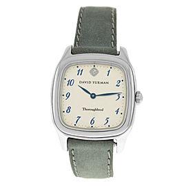 Unisex David Yurman Thoroughbred T303-SST Stainless Steel Quartz 32MM Watch
