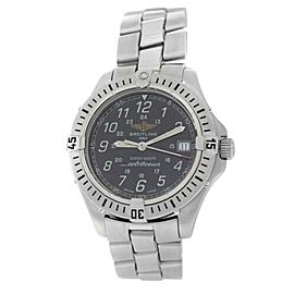 Men's Breitling Colt Ocean A64350 38MM Date Quartz Steel Watch