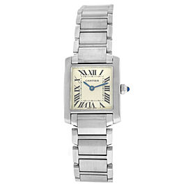 Cartier Tank Francaise 2384 Ladies' Quartz 20MM Stainless Steel Watch