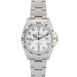 Rolex Explorer II 216570 42mm Mens Watch