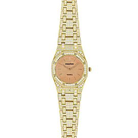 Audemars Piguet Royal Oak 67600BA.OO.1210BA.01 33mm Womens Watch