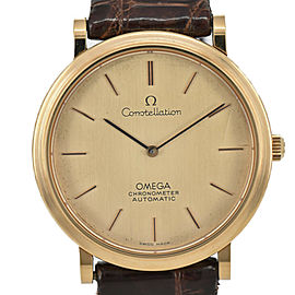 OMEGA Constella GP/Leather Cal.712 Chronomete Automatic Men's Watch