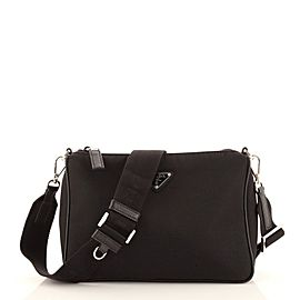 Prada Re-Edition Zip Messenger Bag Tessuto Small