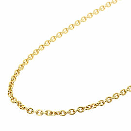 CARTIER 18K Yellow Gold Chain only Necklace