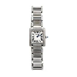 Cartier Tank Francaise W51008Q3 25mm Womens Watch