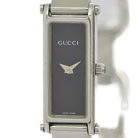 GUCCI 1500L black Dial Quartz Ladies Watch