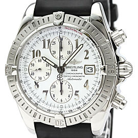 Polished BREITLING Steel Chronomat Evolution Watch HK-2077