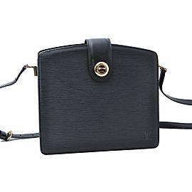 Louis Vuitton Epi Capuchine Black Shoulder Bag M52342