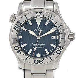 OMEGA Seamaster 300m 2265.80 Date Blue Dial Quartz Boy's Watch