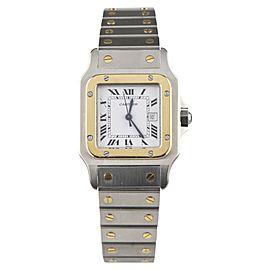 Cartier Medium Santos 296101823 33mm Mens Watch