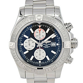BREITLING Super Avenger II A13371 black Dial Automatic Men's Watch