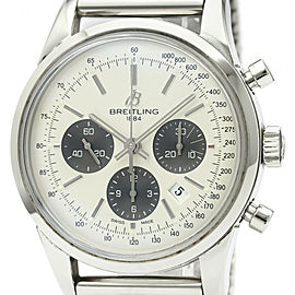 BREITLING Transocean Chronograph Automatic Mens Watch AB0152