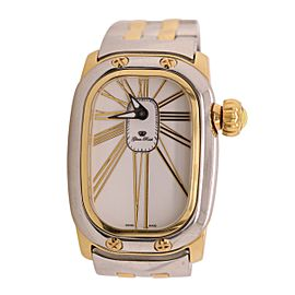 Glam Rock Stainless Steel and Gold Watch