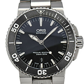 ORIS Aquis Date 733 7653 4154M Stainless Steel Automatic Men's Watch