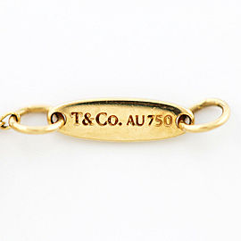 TIFFANY&Co. 18K yellow Gold Pearl By the yard Bracelet CHAT-397