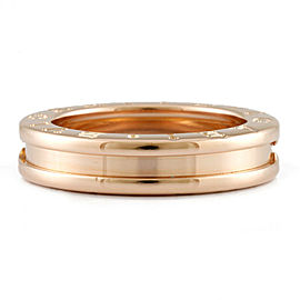 BVLGARI 18K Pink Gold B-zero.1 Bundling Ring CHAT-980