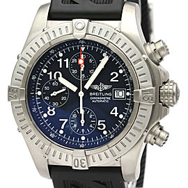 BREITLING Titanium/Rubber Chrono Avenger Automatic Watch