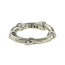 Tiffany & Co. 1996 Sterling Silver Bamboo Ring